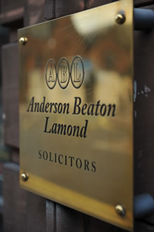 Anderson Beaton Lamond Solicitors